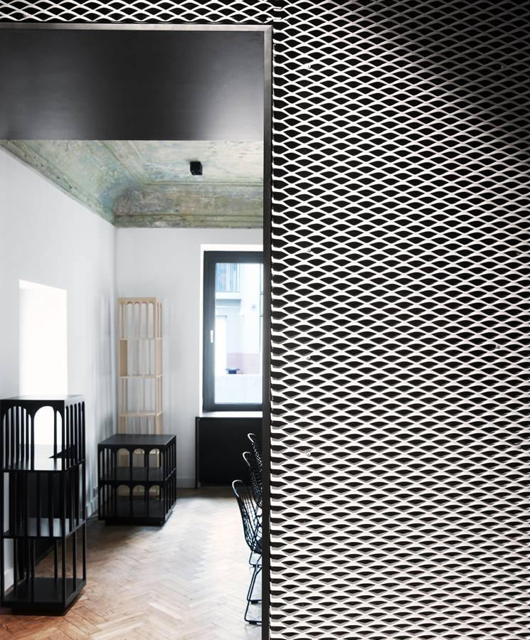 Expanded Metal Panels for Interior Decoration Designs
